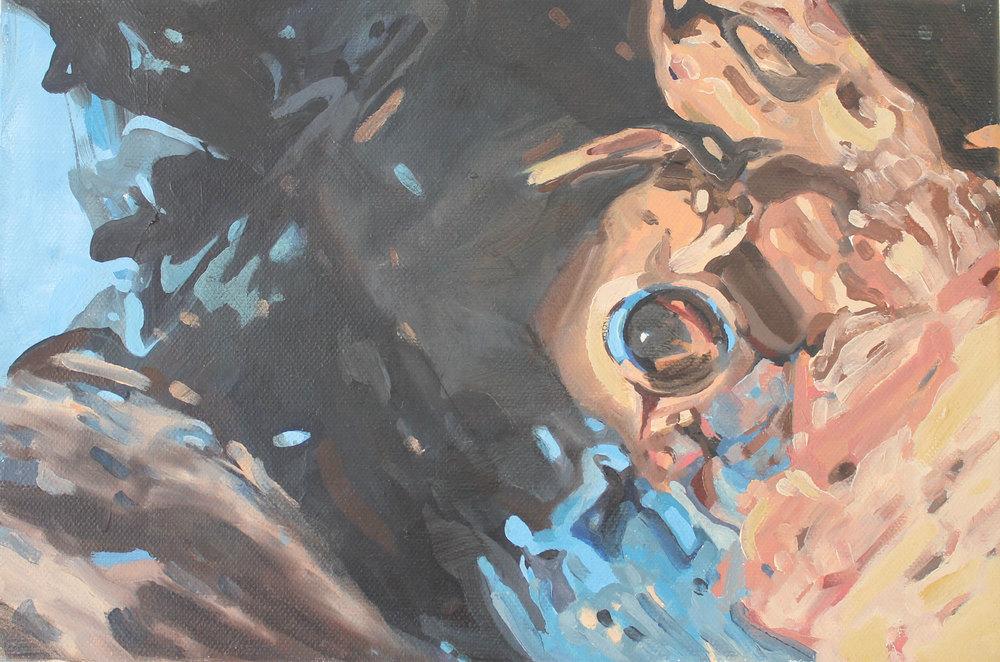 """""""cuerpo deformado"""" 20 x 30 cms - 2012"""