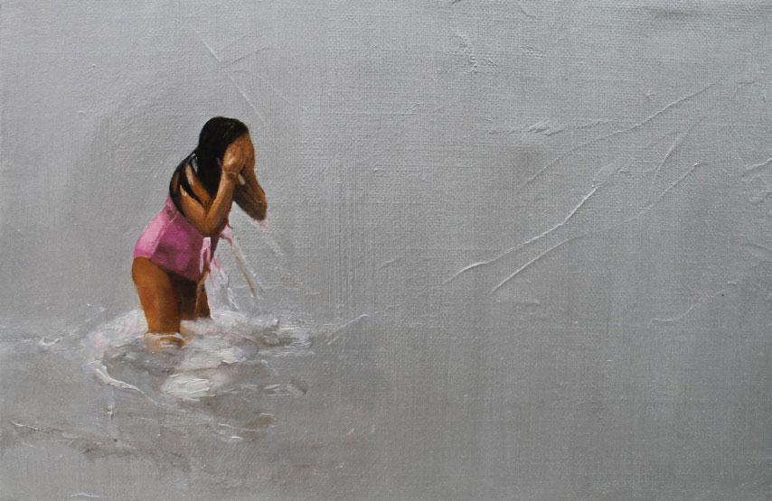 """""""Viñamarina en invierno 2"""" 25 x 35 - 2014"""