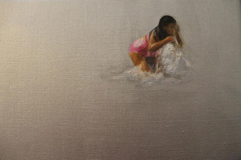 """""""Viñamarina en invierno"""" 25 x 35 cms - 2014. Disponible."""
