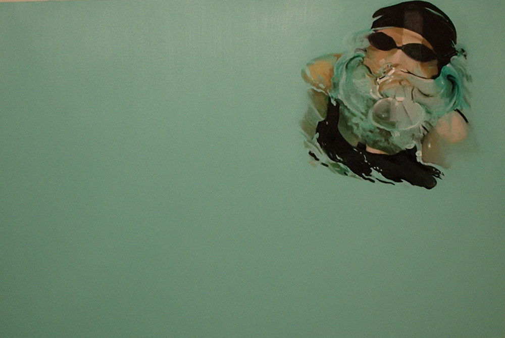 """""""Bubble"""" 70 x 90 cms - 2006"""