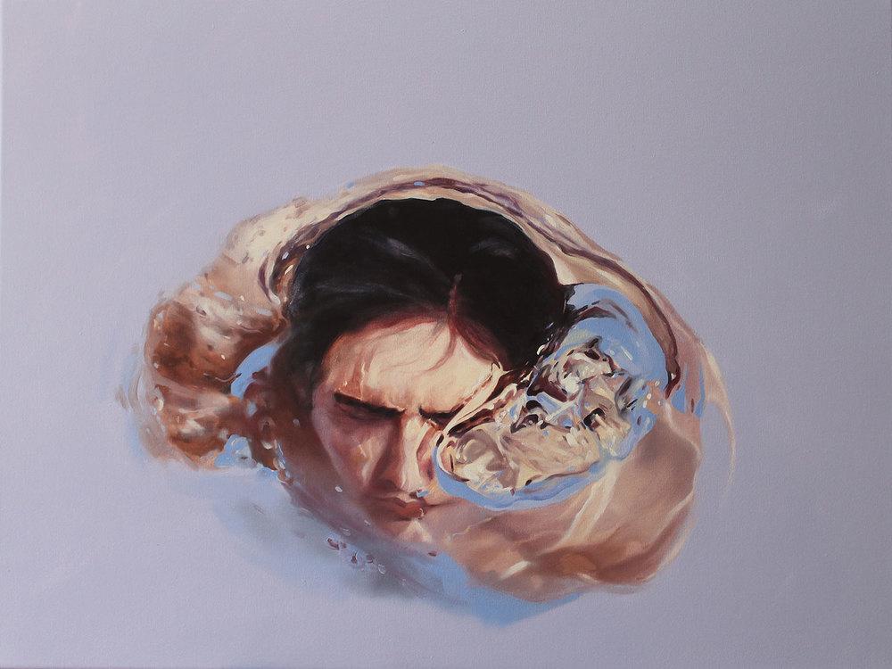 """Burbuja"". 60x80 cm. Óleo sobre tela."