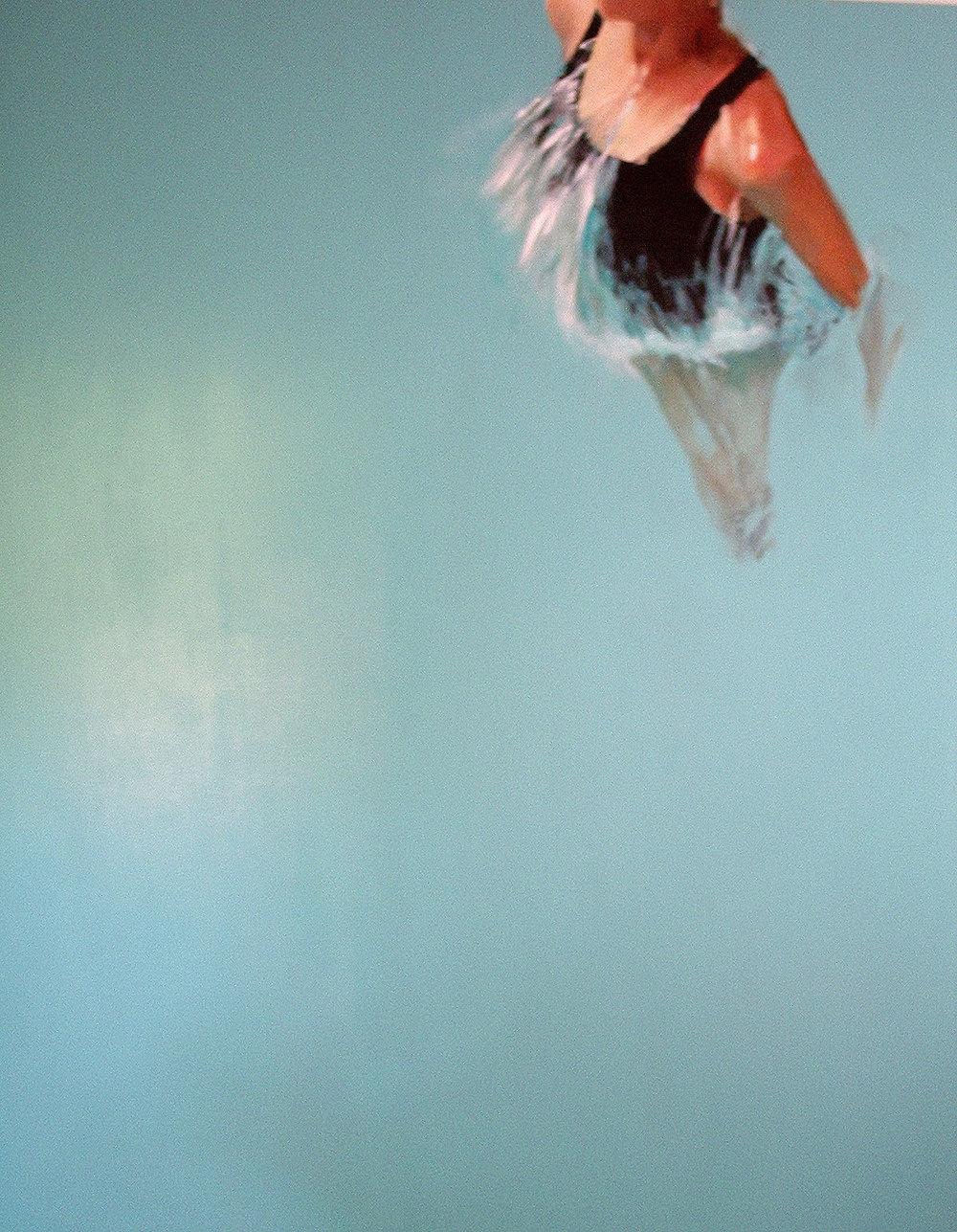 """Respiro"" 170 x 140 cms - 2007."