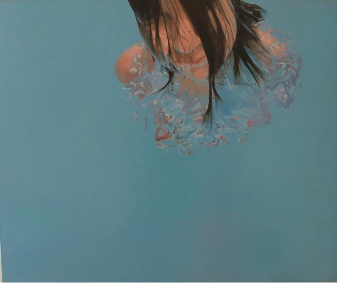 """""""Salida libre"""" 100 x 120 cms - 2008"""