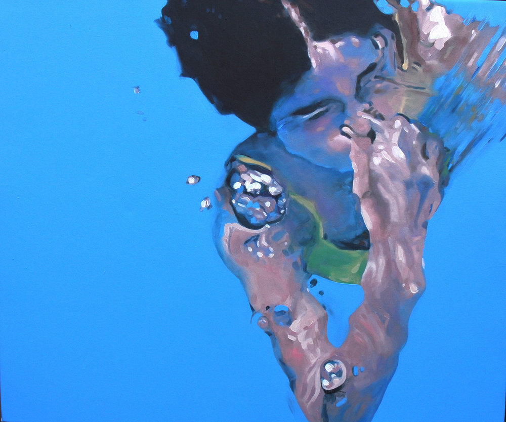 """Javiera"" 50 x 60 cms - 2009"