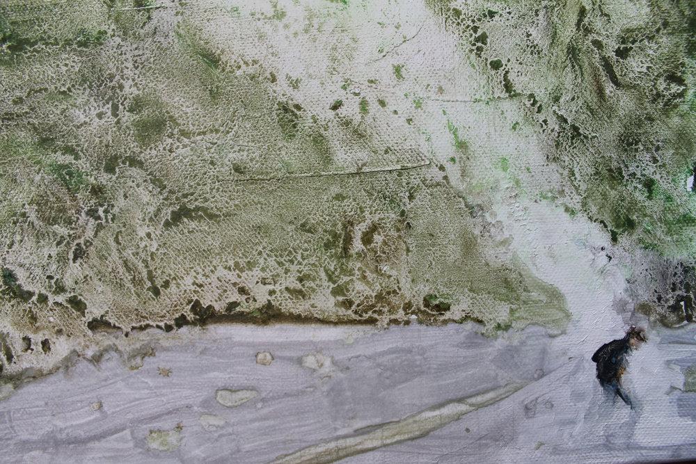 """Humo blanco"" 20 x 30 cms - 2013"
