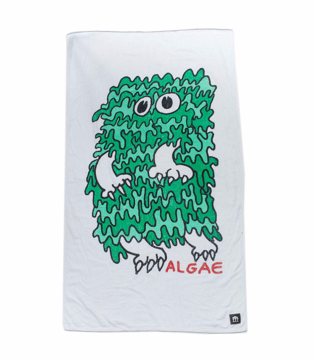 Metro Zu x Algae Limited Edition Beach Towel.