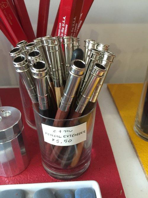 Extensores de lápis