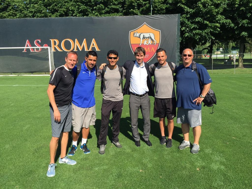 Pateadores club director and Coaches with Scouting   director for AS ROMA.