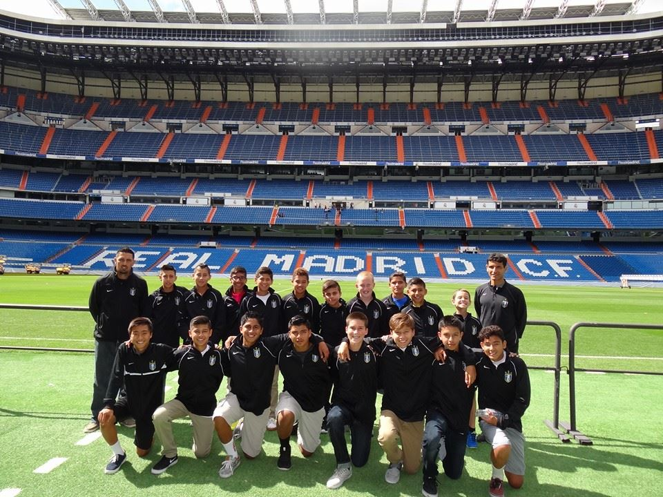 PATEADORES IS FIRST US TEAM TO MAKE AN APEARANCE IN                                           MADRID FOOTBALL CUP (2014)