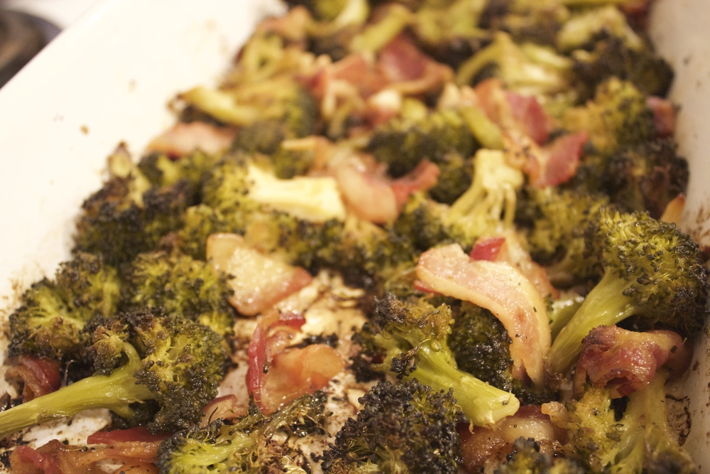 Bacon infused Broccoli
