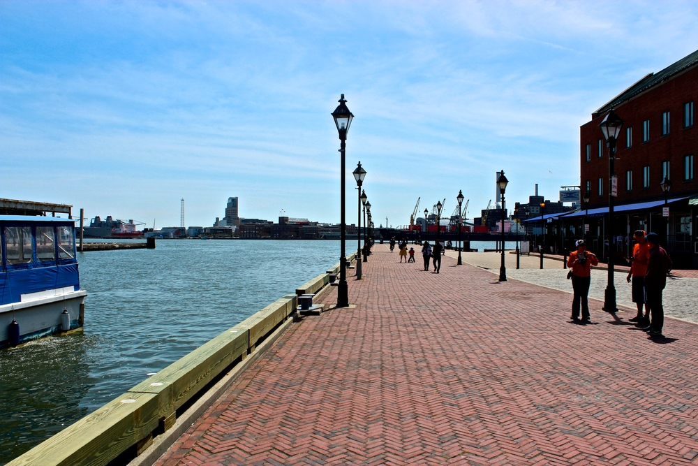 Waterfront in Baltimore