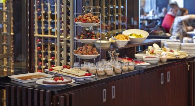 Vox breakfast via Hilton Nordica