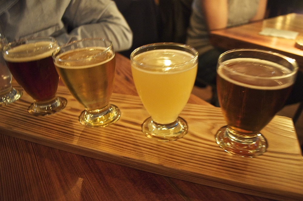 Beer pairings to go with not dogs