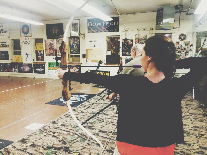 $20 FOR A 2 HOUR ARCHERY LESSON, AND EQUIPMENT? SURE!