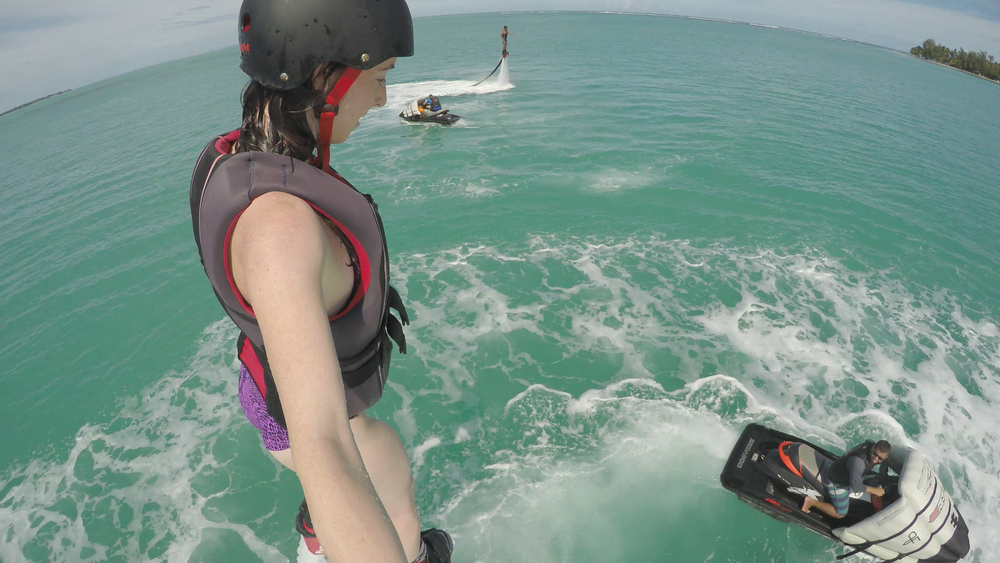 TRIALS & TRIBULATIONS OF FLYBOARDING