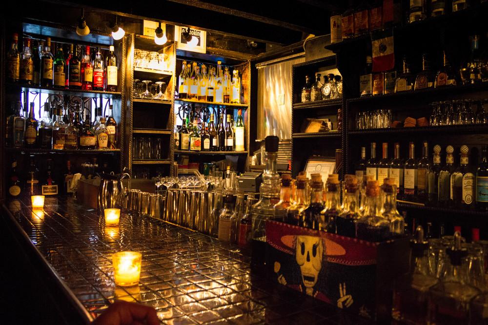 The bar at Mayahuel
