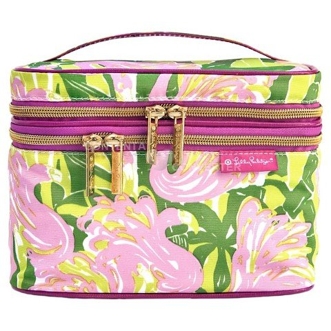 Lilly Pulitzer for Target Double Zip Train Case - $9.18