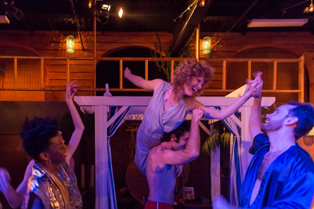 Roxanne Kidd, Tori Sparks, Wil Petre, Brendan Duggan -  Photograph by Darial Sneed
