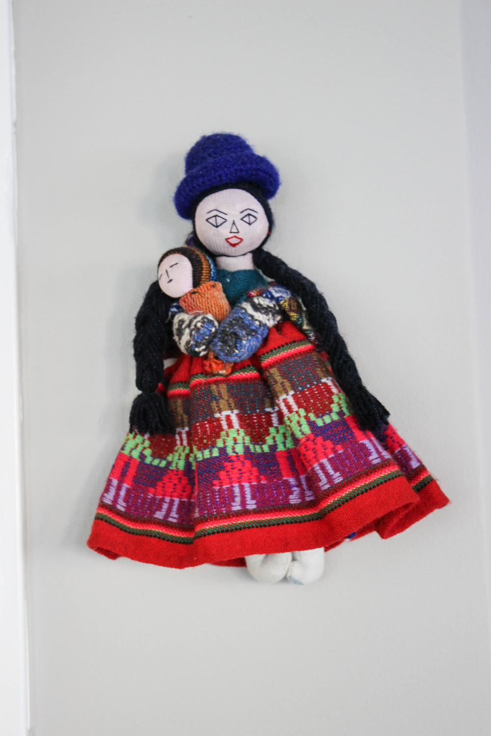 Peruvian doll as part of decor at Tumi