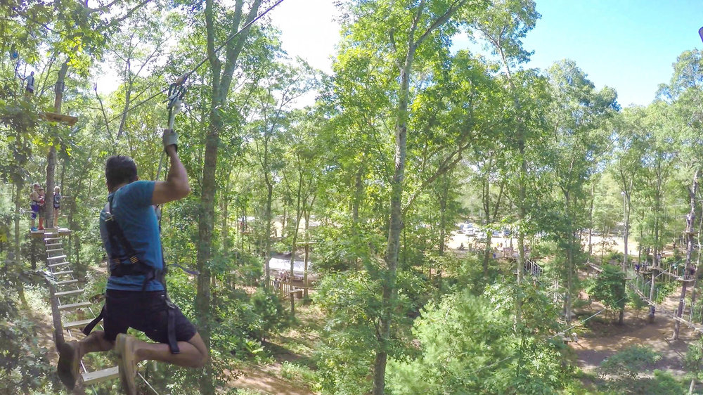 Cape cod guide sarahfunky as an adventure lover my favorite part was their aerial adventure ropes course in the forest there are 5 separate trails of varying levels of difficulty sciox Images