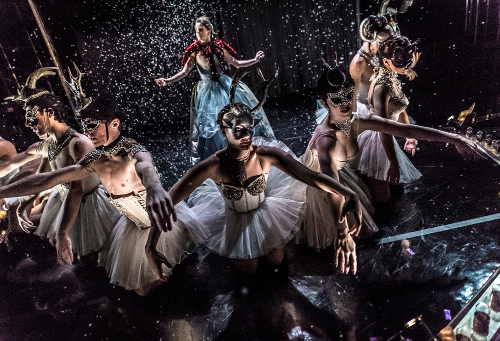 Cast members of Nutcracker Rouge, Photo credit: Mark Shelby Perry