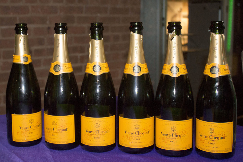 Veuve Clicquot  brut paitently waiting to be drank.