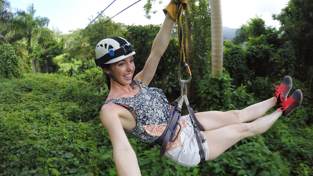 ZIP-LINE THROUGH EL YUNKE RAINFOREST El Yunke Rainforest, Puerto Rico