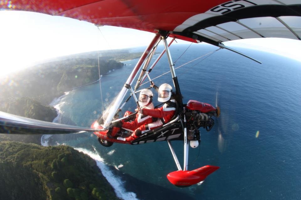 HANG GLIDING IN MAUI   Hana, Hawaii