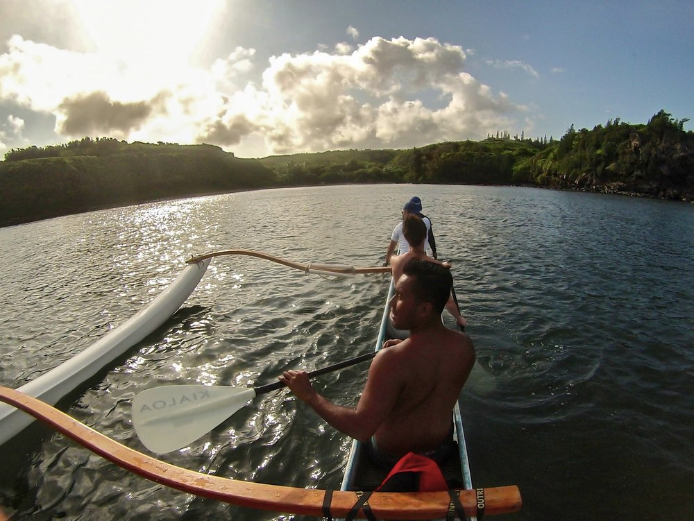 EXPERIENCE AN AUTHENTIC HAWAIIAN OUTRIGGER CANOE   Maui, Hawaii