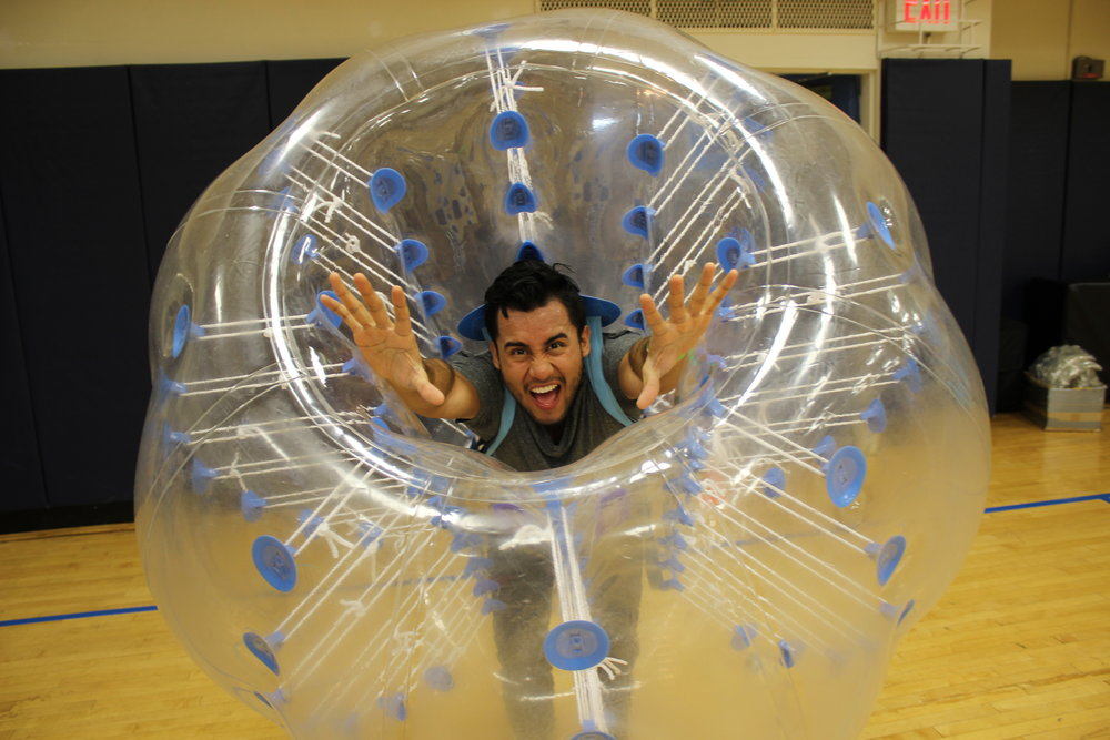 THIS IS WHAT IT'S LIKE TO PLAY BUBBLE BALL SOCCER   Brooklyn, New York