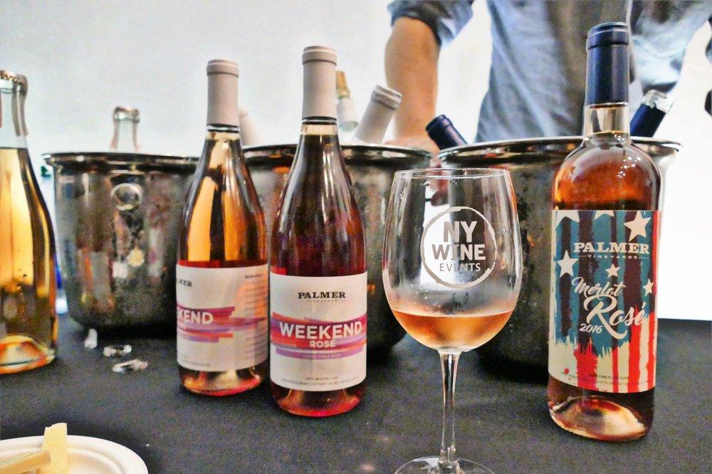 Palmer Vineyard's popular Weekend rosé