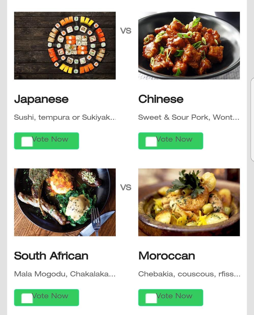 Eight of the best specialty restaurants in nyc compete for victory i choose eight types of cuisine that my friends and i enjoy then selected zagat rated restaurants that correlated with them my friends downloaded the app forumfinder Image collections