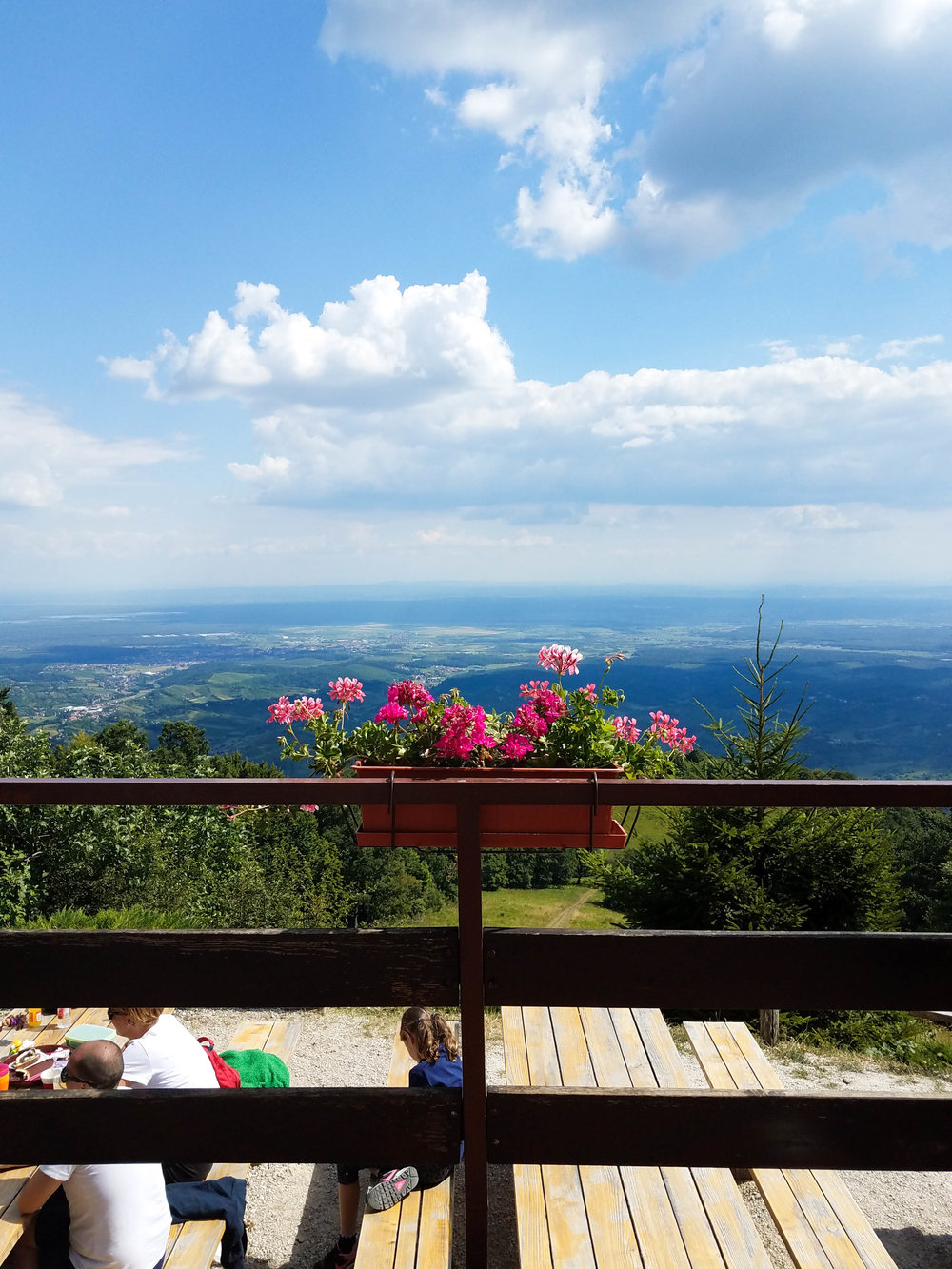 Lunch at Žitnica at the top of Samoborsko Gorje mountain