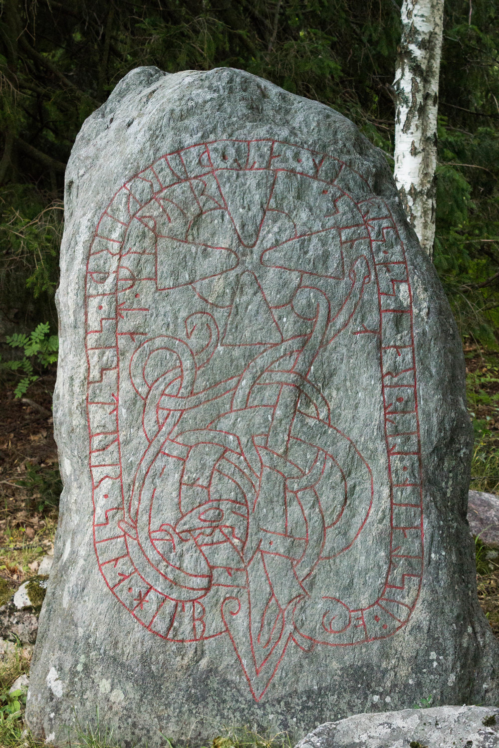 The design on the rune stone is over 1000 years old