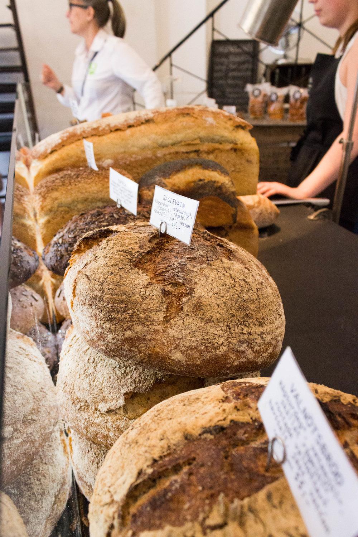 Organic bread at Bakery & Spice