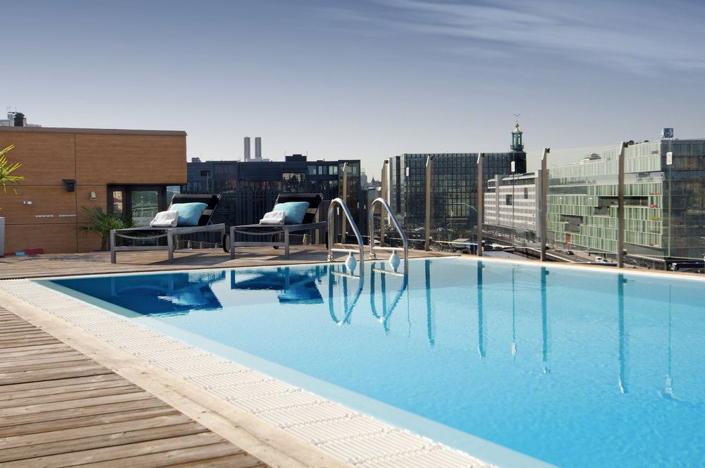The beautiful pool area. Photo credit: Selma City Spa