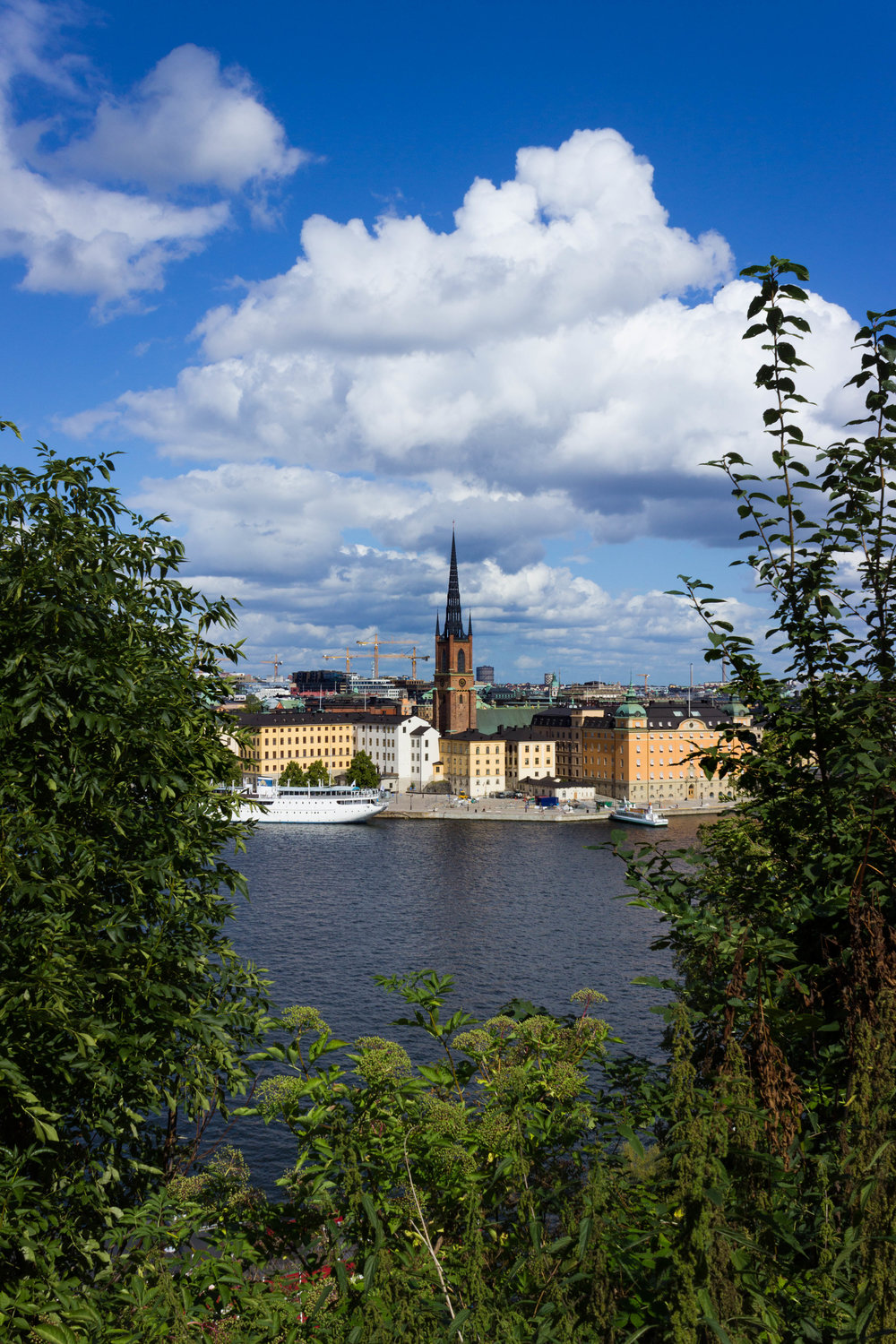 Stockholm City from Sodermalm (old town)