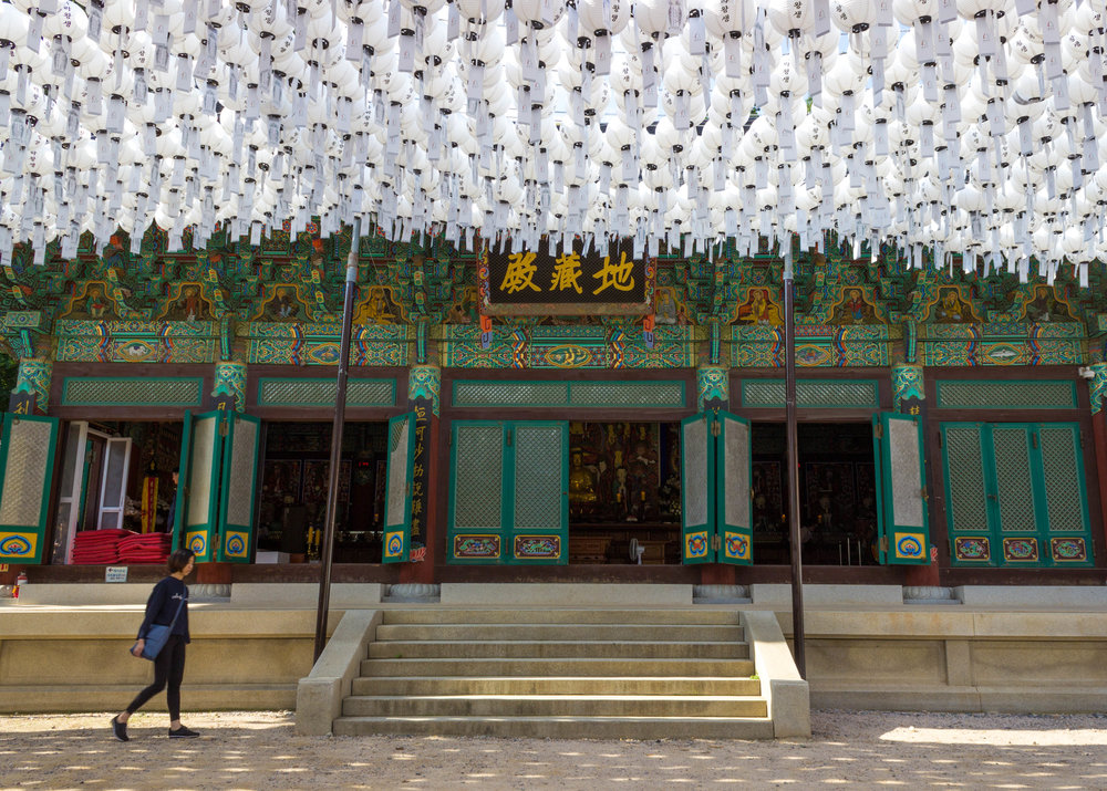 Bongeunsa Temple in Gangnam