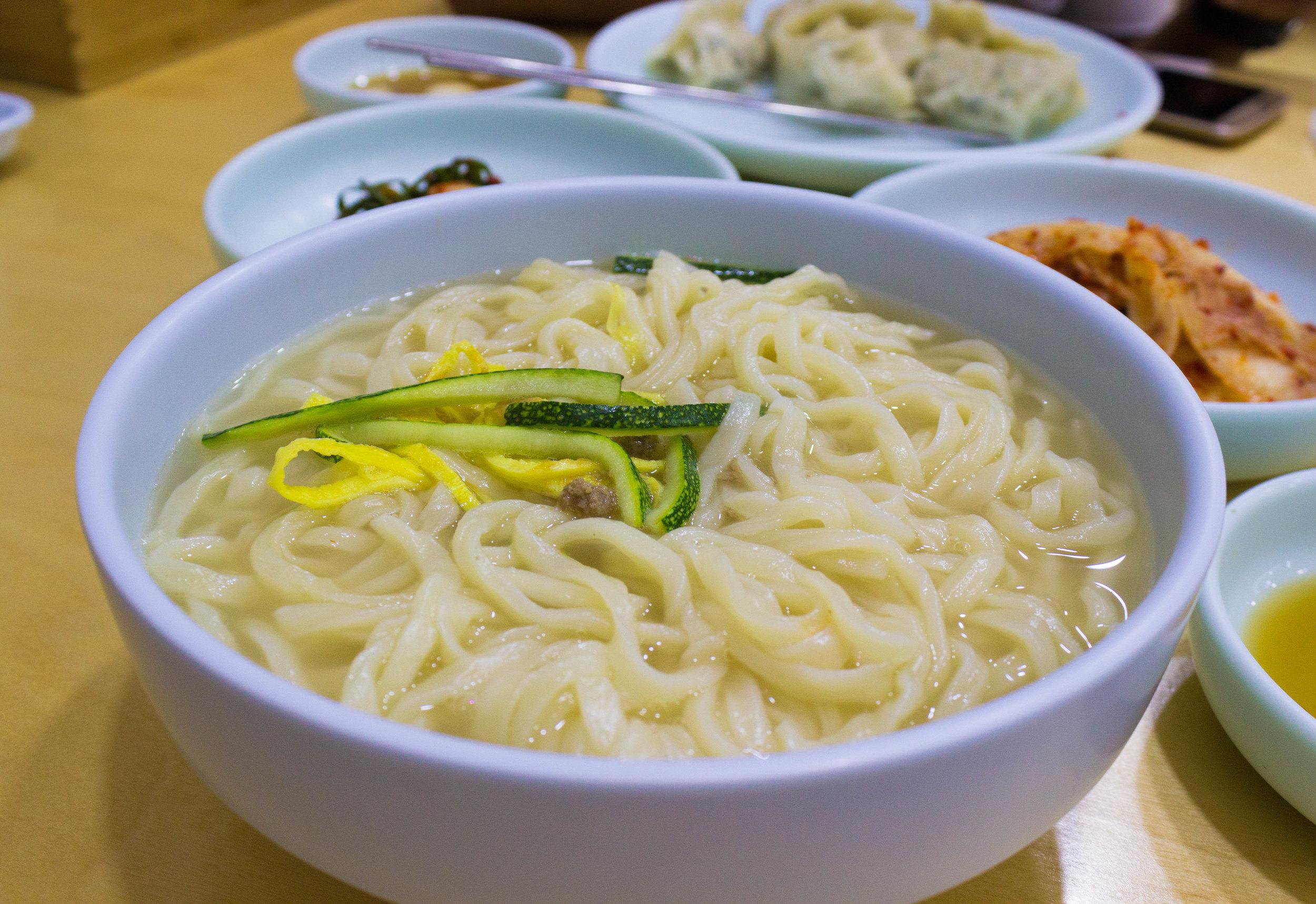 Hwang Saeng Ga Noodles Soup