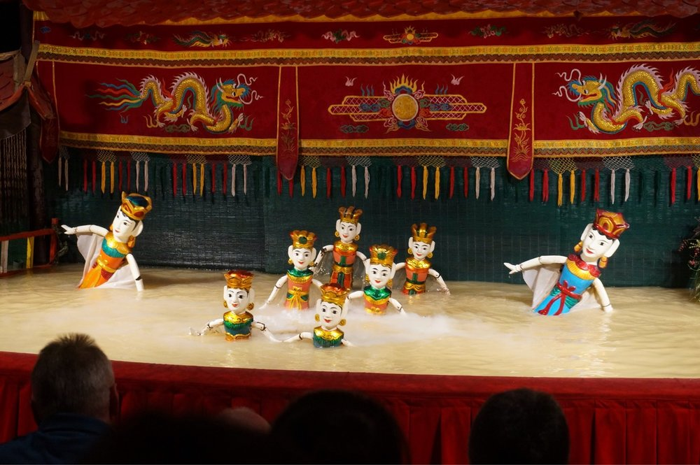 The water puppet theatre