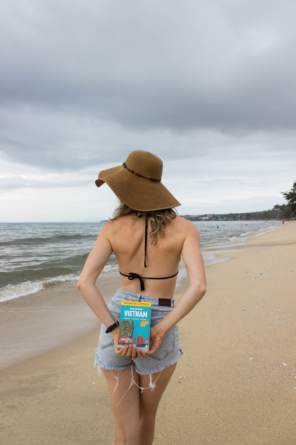 I love exploring Vietnam with my Marco Polo guidebook!