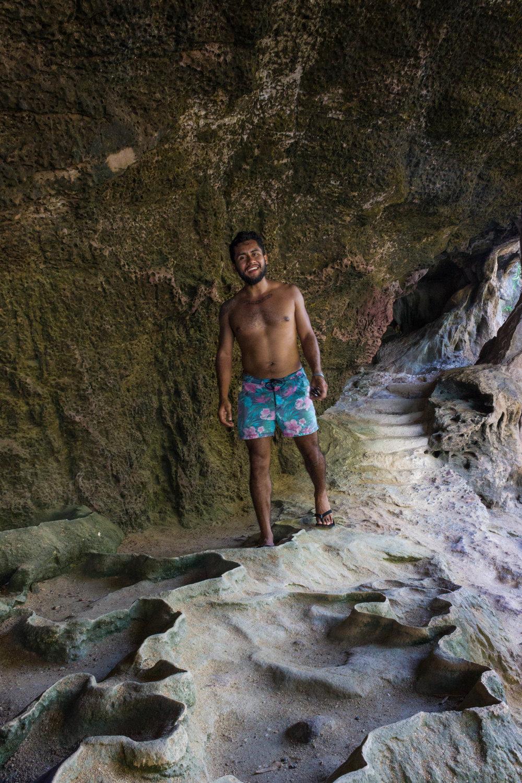 Interesting caves at James Bond Island