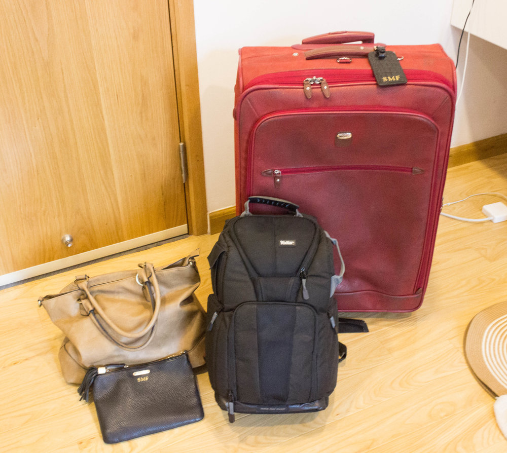 These are the bags I bring for world travel. View the video below to get more details on when each one should be used and why they are all important.