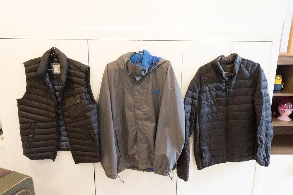 Luis's jackets