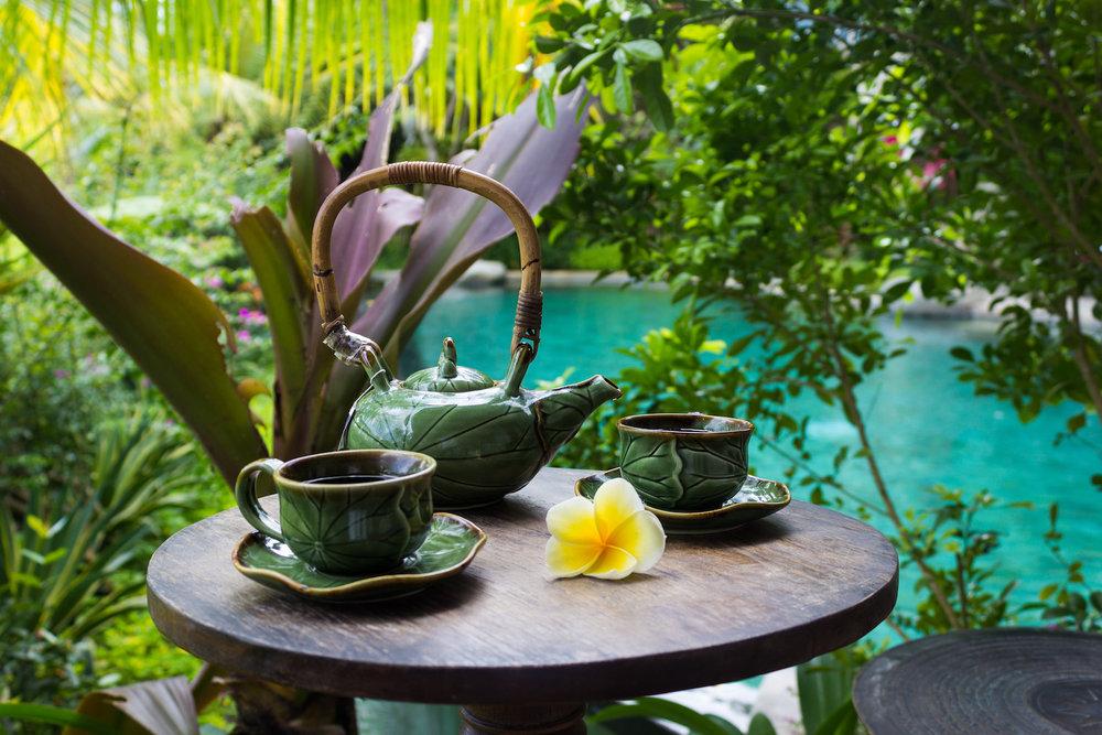 Tea time at Dwaraka Villas