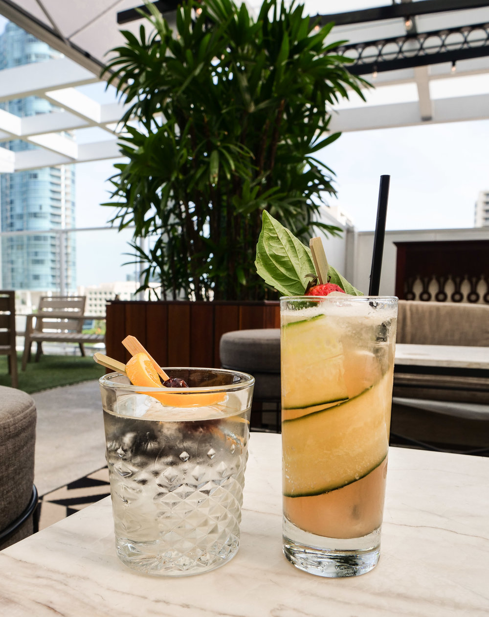Cocktails at Rooftop @ 1WLO