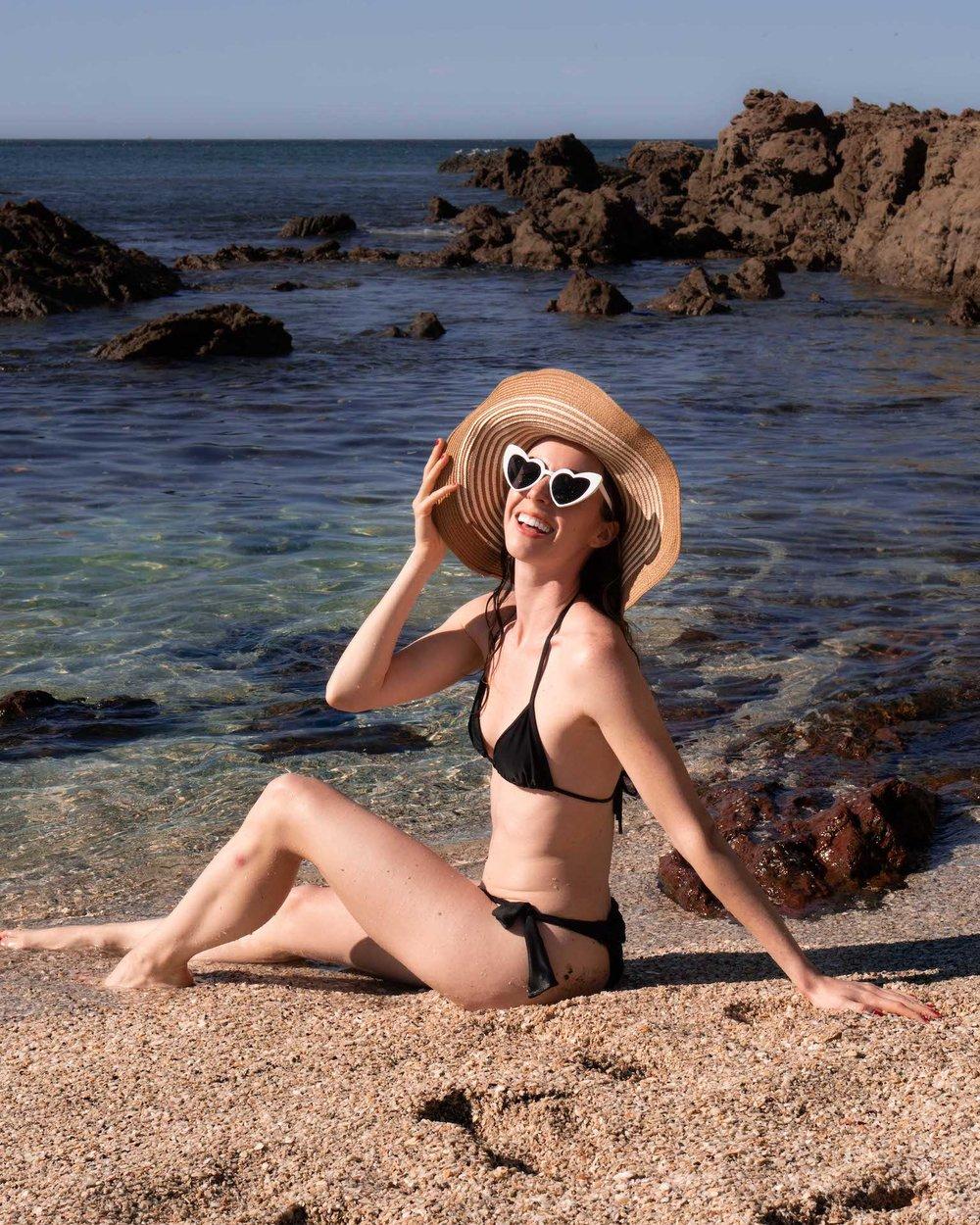 Sarah at Playa Conchal - Photo by Luis Yanes