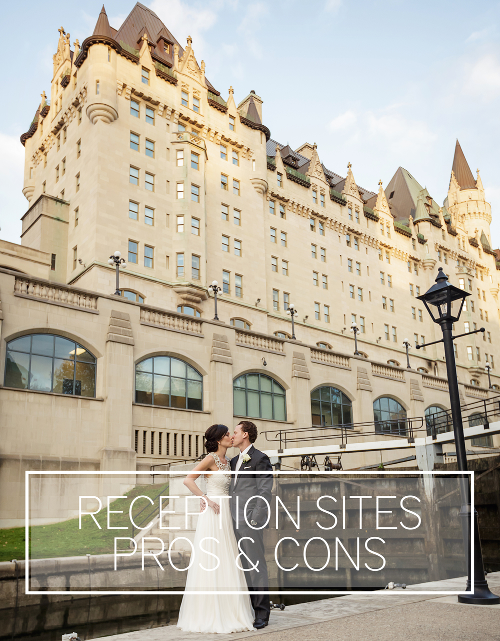 Toast Events Bride & Groom Chateau Laurier