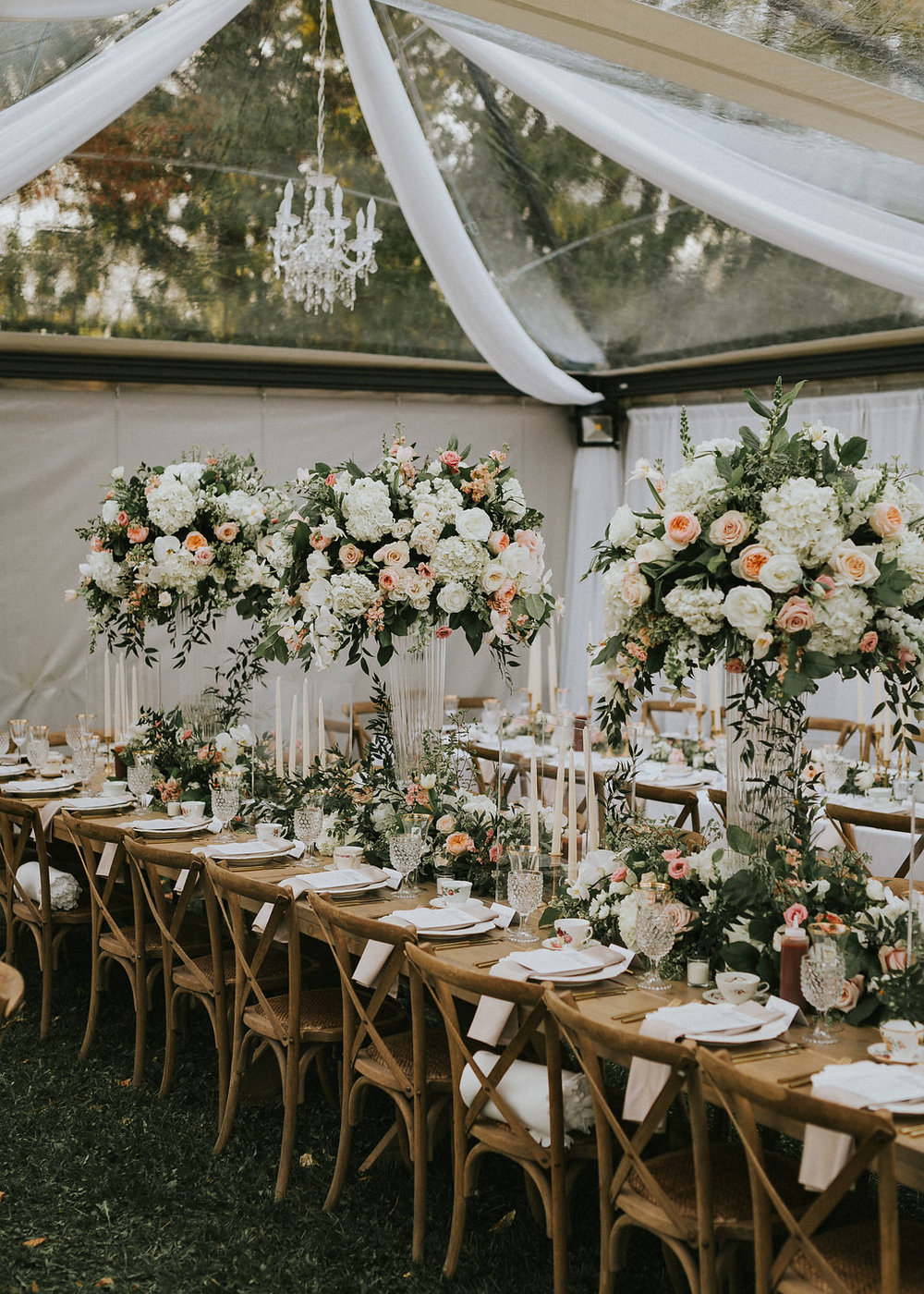 Clear Tent Toast Events Wedding Planning