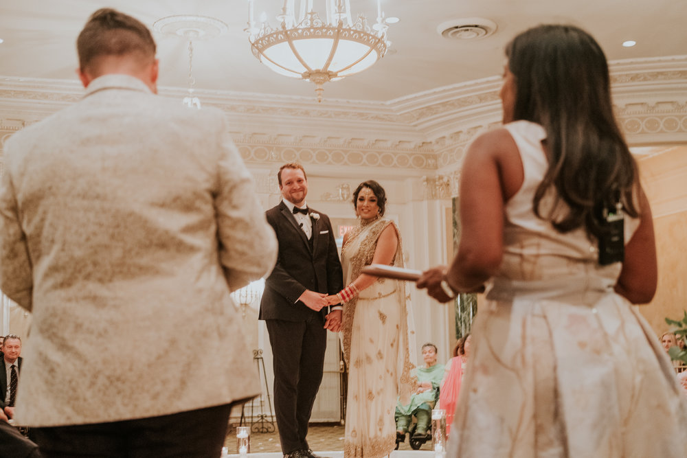 Officiant: Meena Rajulu & Adam Miron